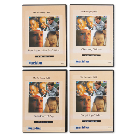 Child and Daycare DVDs Set of 4