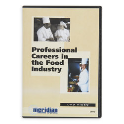 Professional Careers in the Food Industry DVD