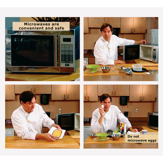 Just the Facts: Microwave Ovens DVD