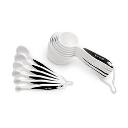 Measuring Set with Cups and Spoons, 12-Piece