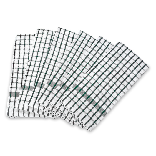 Windowpane Terry Dish Towels