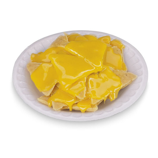 Nasco Nachos with Cheese Food Replica