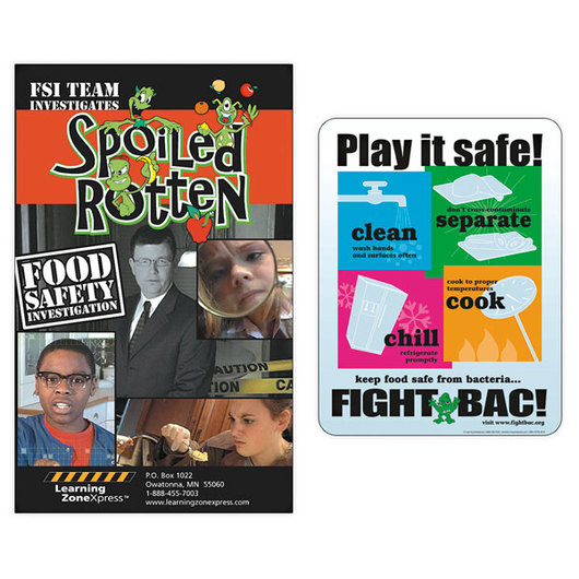 Play It Safe! A Food Safety Mini-Unit & DVD