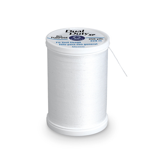Coats & Clark Dual Duty XP General Purpose Thread - White