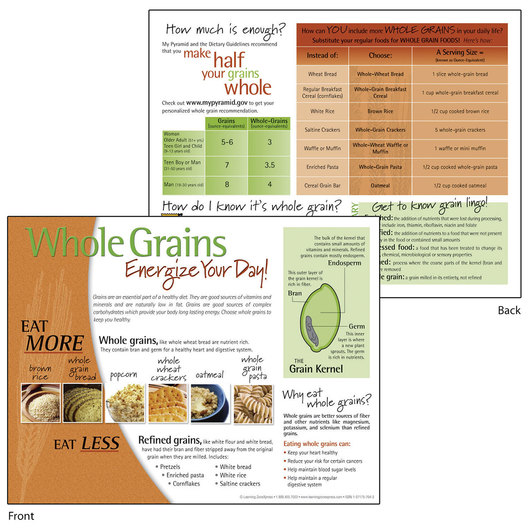 Whole Grains Tablet - 8-1/2 in. x 11 in. - 50 Sheets