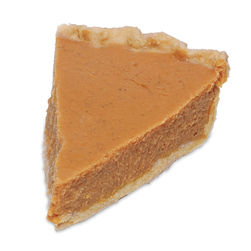 Nasco Pie Food Replica - Pumpkin/Sweet Potato