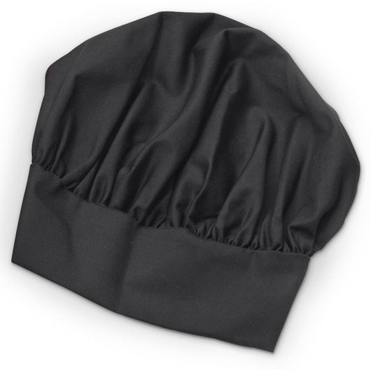 Professional Chef's Hat - Black
