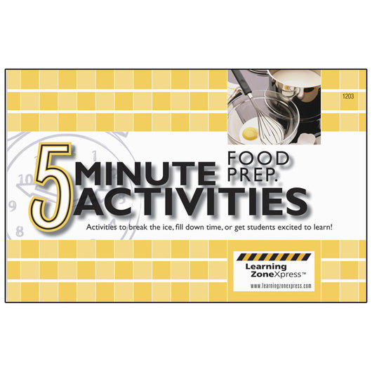 5-Minute Food Prep Activities