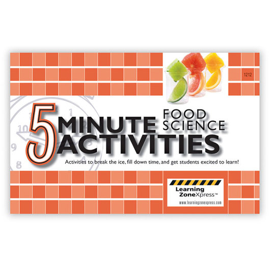 5-Minute Food Science Activities
