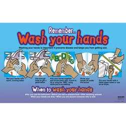 Remember... Wash Your Hands Poster