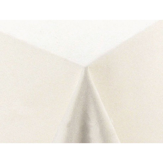 White Tablecloth - 60 in. x 102 in.