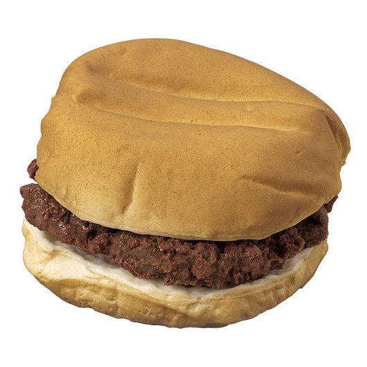 Nasco Sloppy Joe on a Bun Food Replica