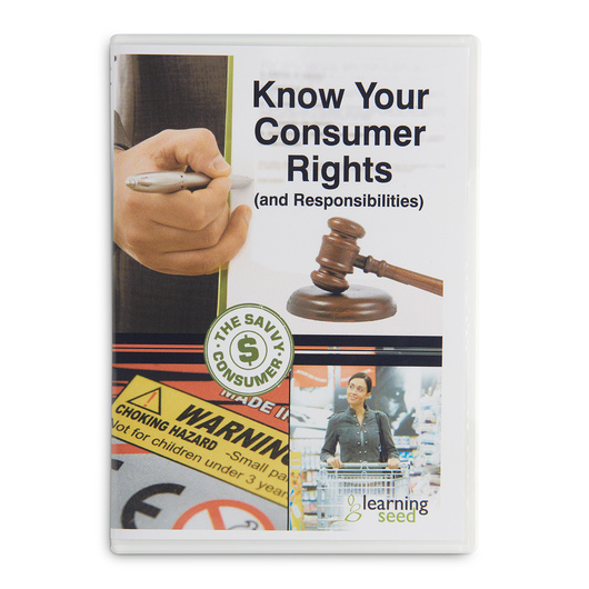 Know Your Consumer Rights (and Responsibilities) DVD