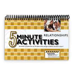 5-Minute Relationships Activities
