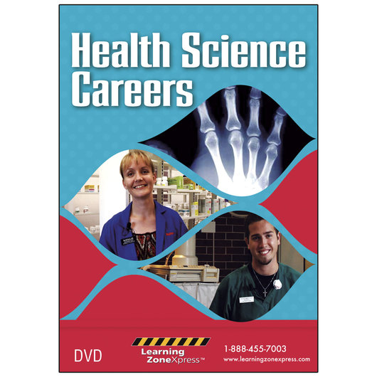Health Science Careers DVD