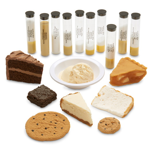 Nasco Dessert Food Replica Kit