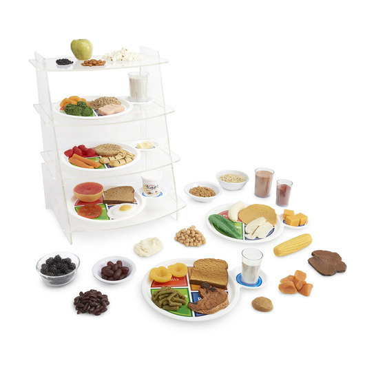 Nasco Complete MyPlate Food Replica Kit