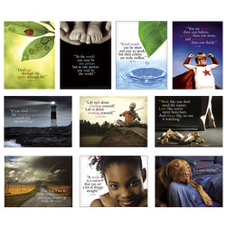 Words of Inspiration Poster Set