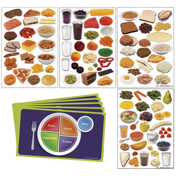 Nasco MyPlate Complete Cling Kit