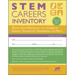 STEM Careers Inventory: Match Your Personality to a Career in Science, Technology, Engineering, or Math