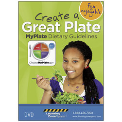 MyPlate Dietary Guidelines: Create a Great Plate DVD