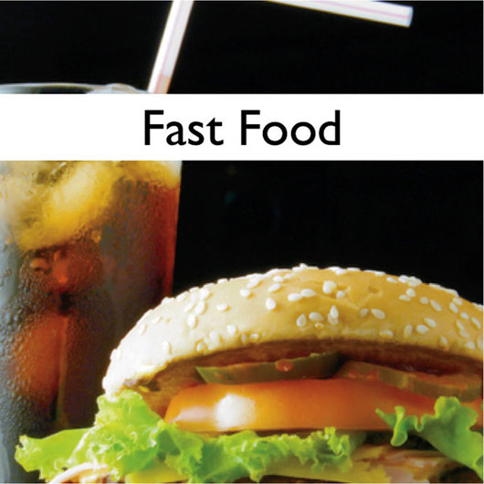 Lesson Manuals with PowerPoint® - Nutrition - Fast Food