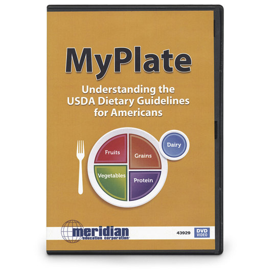 MyPlate: Understanding the USDA Dietary Guidelines for Americans DVD
