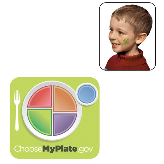 MyPlate Temporary Tattoos - Set of 100
