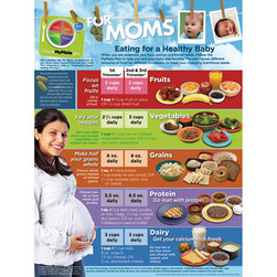 MyPlate for Expecting Moms Poster - 18 in. x 24 in.