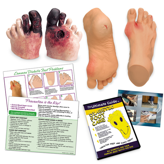 <strong>Life/form®</strong> Complete Diabetic Foot Care Education