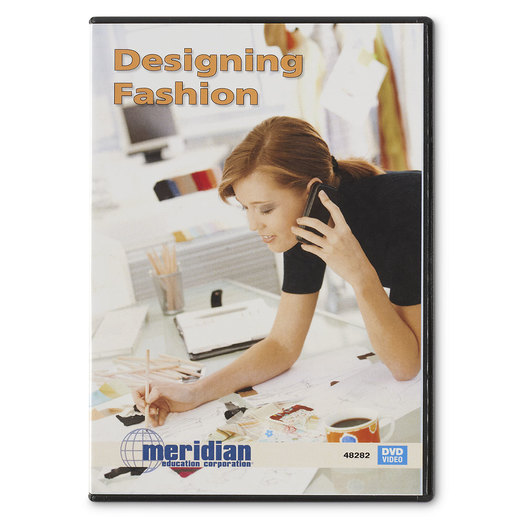 Designing Fashion Dvd Dvds Clothing Constructions Fashion Design Family Consumer Sciences Education Supplies Nasco