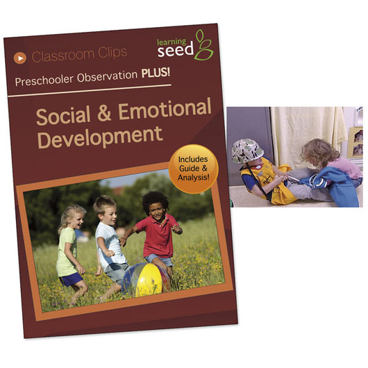 Preschooler Observation PLUS! DVD - Social and Emotional Development