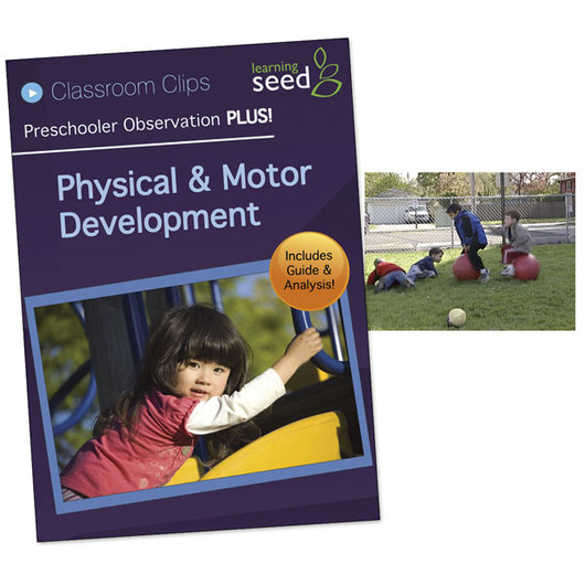 Preschooler Observation PLUS! DVD - Physical and Motor Development