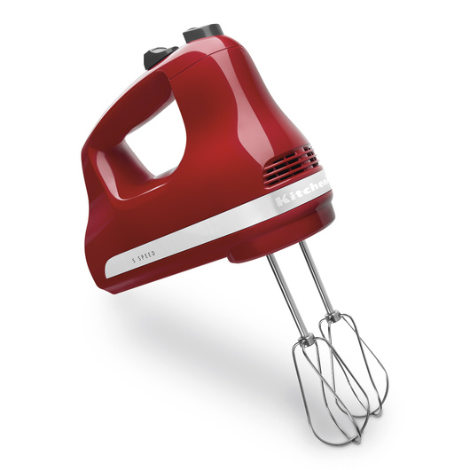 KitchenAid® 5-Speed Hand Mixer - Red
