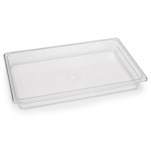 Poly-Carb Full-Size Food Pan - 2-1/2 in. deep