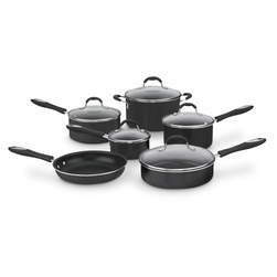 Cuisinart® Advantage Nonstick Set - 11-Piece Set, Red