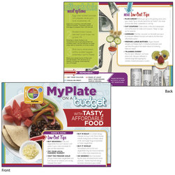 MyPlate on a Budget Tablet - English