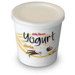 Life/form Yogurt Food Replica, Vanilla