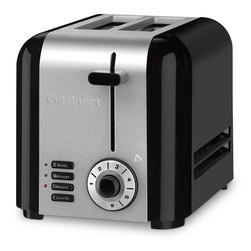 Cuisinart® Compact Stainless Two-Slice Toaster