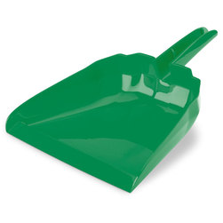 13 in. Green Snap On Dustpan