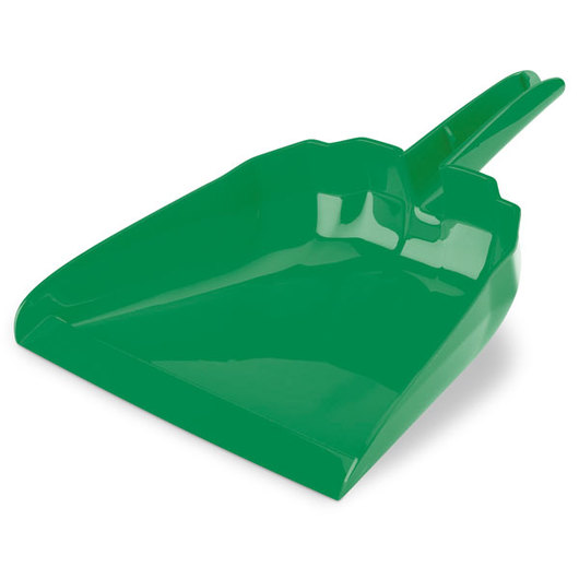 13 in. Green Snap-On Dustpan