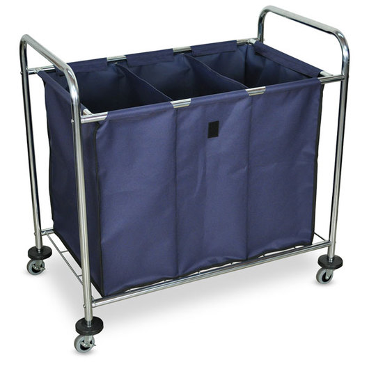 Laundry Cart with Dividers