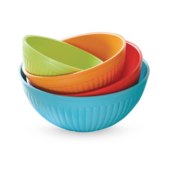 Prep and Serve Mixing Bowl, 4-Piece
