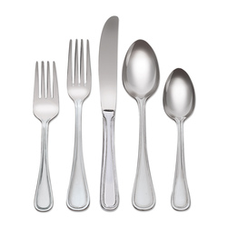 Utica Marcie Flatware Set, 40-Piece