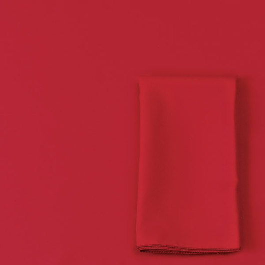 56 in. x 84 in. Tablecloth - Red