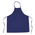 Colored Bib Apron - 28 in. x 33 in. - Royal Blue