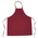 Colored Bib Apron - Red