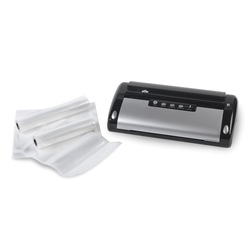 NESCO Black and Silver Food Vacuum Sealer