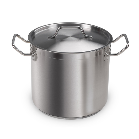 Vollrath® Optio™ Stainless Steel Stockpot with Cover - 8-Qt.