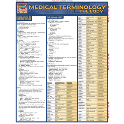 QuickStudy Medical Terminology: The Body Guide